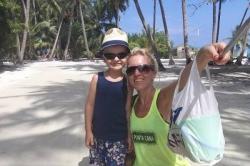 Dovolená na Maledivách - cestou na pláž