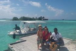 Dovolená na Maledivách - jede se na výlet