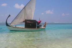 Maledivská plachetnice