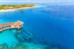 pohled z dronu na umístění podvodní restaurace