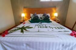 ozdobená postel