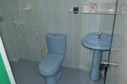 Maledivy Fodhdhoo - koupelna