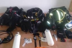 Maledivy - přístrojové potápění - výbava