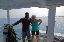 Společné potápěčské foto
