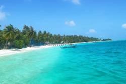 dokonalé barvy Maledivy