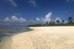 pláž na ostrově Mandhoo