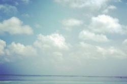 Bikini pláž ostrova Huraa