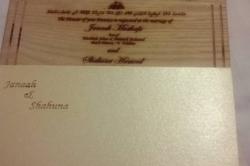 Maledivská pozvánka na svatbu