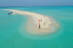 výlet na sand bank - písčinu