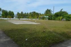 fotbalové hřiště na Maledivách