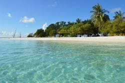 Pohled na ostrov z vody