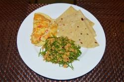 snídaně na Gaafaru