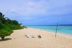 pláž na ostrově Omadhoo