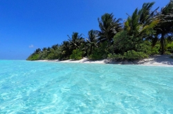 pláž ostrova Thoddoo