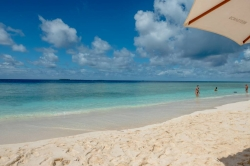 pláž na ostrově Ukulhas