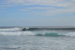 Surfování u ostrova Vilingili