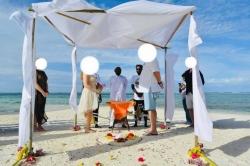 Maledivy ostrov Gaafaru