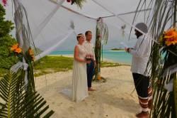 svatební obřad Maledivy