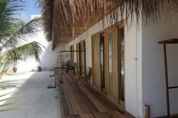 ubytování na ostrově Thinandhoo