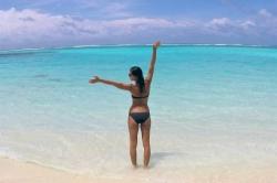 ahoj z Malediv