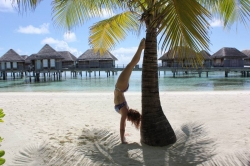 Marcelka v resortu Club Med Kani