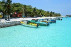 Maledivy ostrov Ukulhas
