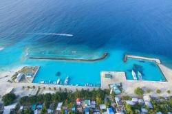přístav ostrova Ukulhas