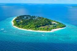 ostrov Fodhdhoo Maledivy