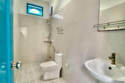 koupelna ubytování na ostrově Vashafaru