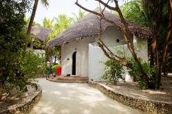 v resortu na Maledivách