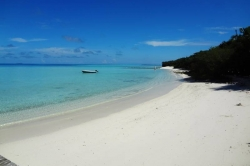 Krásná pláž ostrova Vilingili
