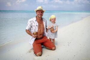 Maledivy s dětmi